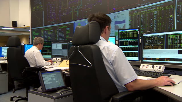 views inside the national grid headquarters - surveillance stock videos & royalty-free footage