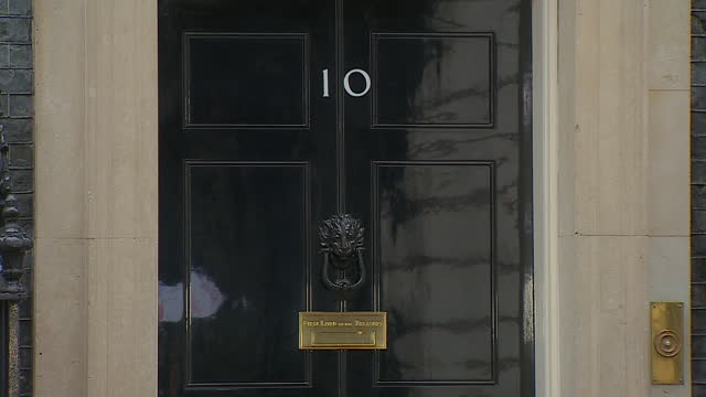 views of 10 downing street - downing street stock videos & royalty-free footage