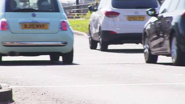 views of a clean air zone in birmingham - zoom in stock videos & royalty-free footage