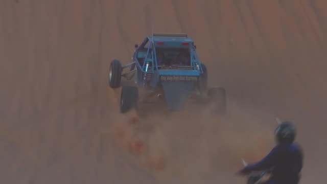 views of a dune buggy in saudi arabia - dune buggy stock videos and b-roll footage