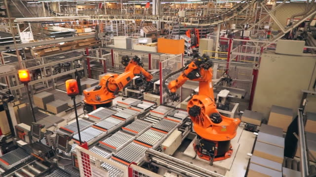 """views of a kitchen worktop factory in germany - """"bbc news"""" stock-videos und b-roll-filmmaterial"""