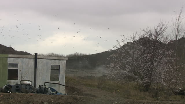Views of a landfill site in the UK NNPV130X ABSA627D