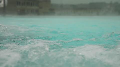 vídeos y material grabado en eventos de stock de views of a modern thermal pool in bath, england - balneario spa