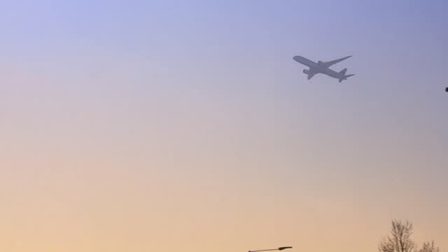 views of a plane taking off from heathrow airport - mid air stock videos & royalty-free footage