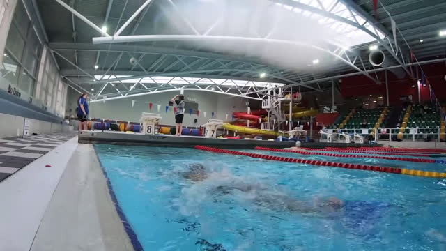 views of a swimmer in a pool - photography themes stock videos & royalty-free footage