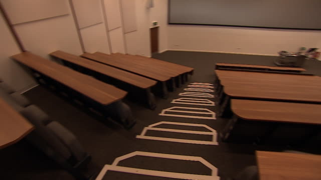 views of a university lecture hall - steps stock videos & royalty-free footage
