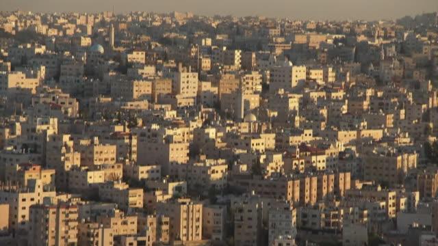 Views of Amman the capital city of Jordan