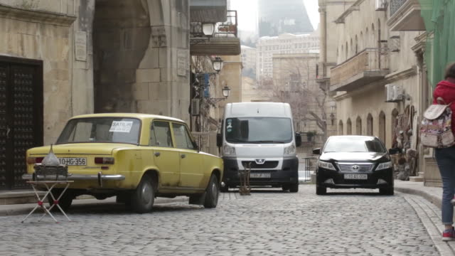 views of baku azerbaijan on friday march 16 2018 - baku video stock e b–roll