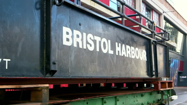 views of bristol harbour, uk - bristol england stock videos & royalty-free footage