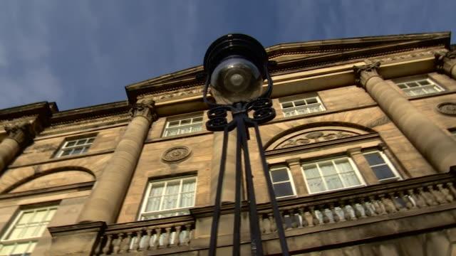 views of bute house in edinburgh - politics stock videos & royalty-free footage