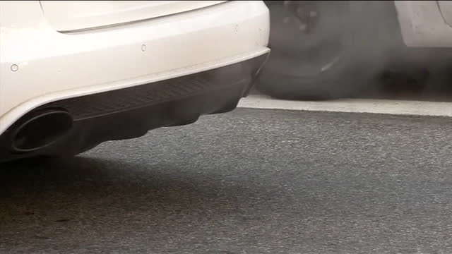 views of car exhausts - low angle view stock videos & royalty-free footage