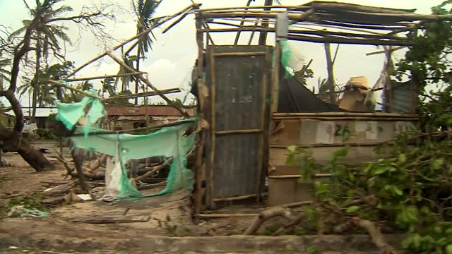 Views of destruction caused by Cyclone Idai in Beira Mozambique