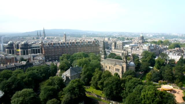 Views of Edinburgh City from Edinburgh Castle, scotland