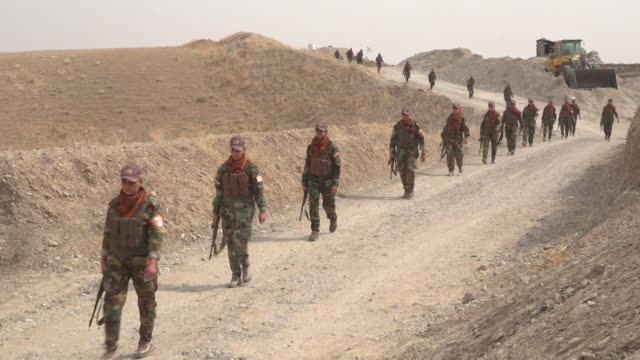 Views of female Peshmerga soldiers training in northern Iraq NNBZ123B ABSA627D