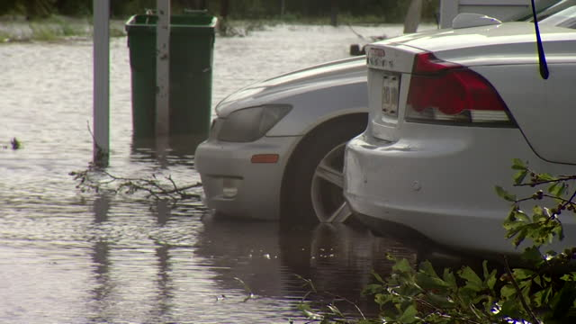views of flooded streets caused by hurricane ida in jefferson parish, louisiana - gulf coast states stock videos & royalty-free footage
