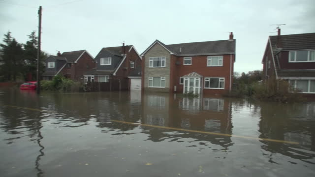 views of flooded streets in fishlake - weather stock videos & royalty-free footage