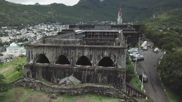 Views of Fort Adelaide in Port Louis Mauritius