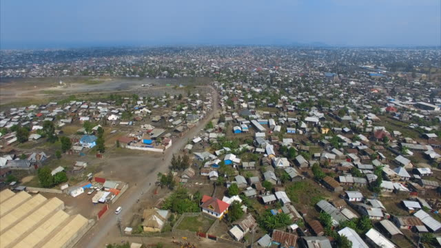 views of goma, drc - uneven stock videos & royalty-free footage