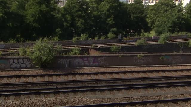 Views of graffiti near Loughborough Junction