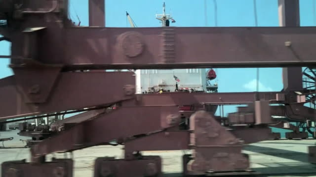views of hodeidah port in yemen - yemen stock videos and b-roll footage