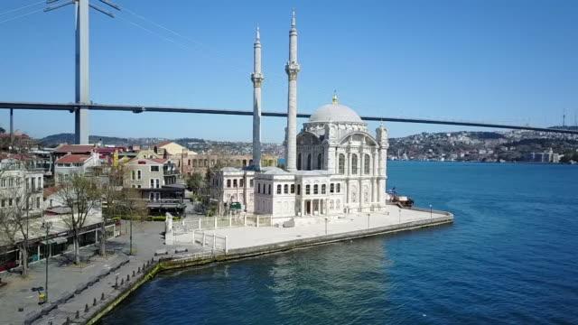 views of istanbul during coronavirus lockdown - istanbul stock videos & royalty-free footage