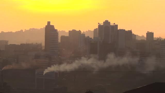 views of kampala, capital of uganda, at sunrise - kampala stock videos & royalty-free footage