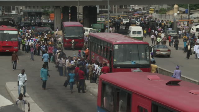 views of lagos nigeria - nigeria stock videos and b-roll footage