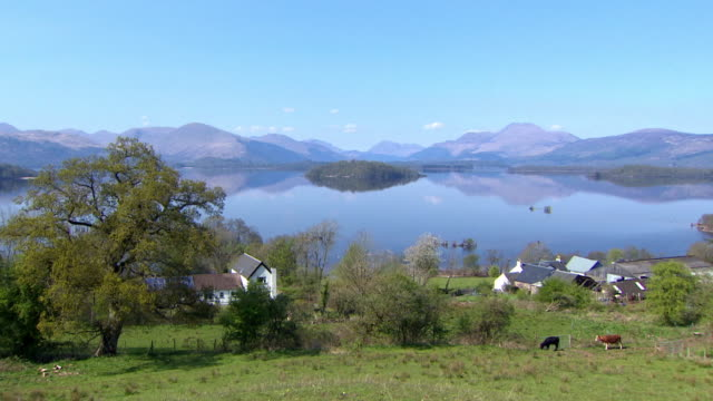 views of loch lomond - scottish culture bildbanksvideor och videomaterial från bakom kulisserna
