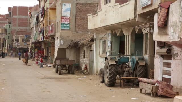 views of nagrig egypt hometown of liverpool fc superstar mohamed salah - hometown bildbanksvideor och videomaterial från bakom kulisserna