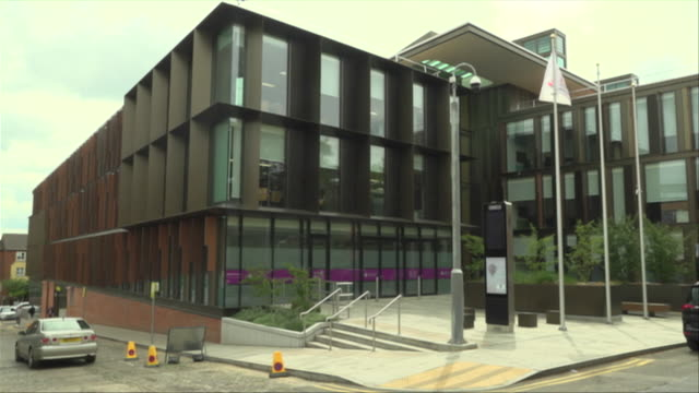 views of northamptonshire county council - northampton stock-videos und b-roll-filmmaterial