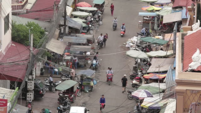 views of phnom penh cambodia on monday july 23 2018 - personal land vehicle stock videos & royalty-free footage