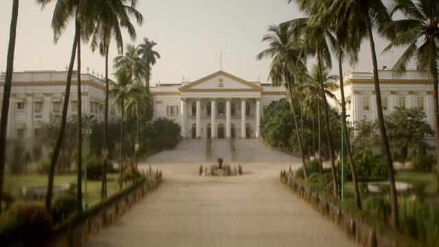 views of raj bhavan, india - kolkata stock videos & royalty-free footage
