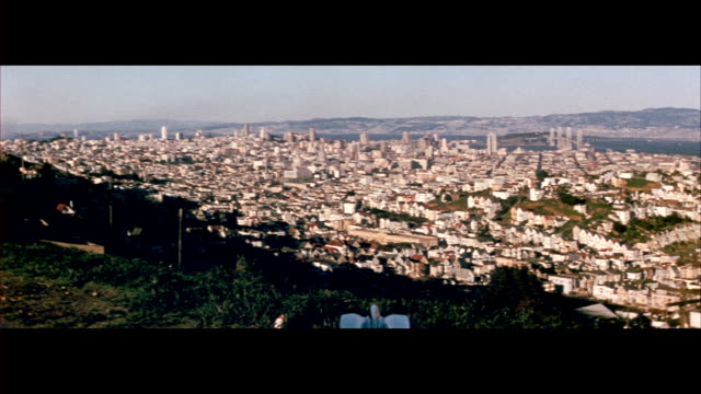 1955 Views of San Francisco from Twin Peaks