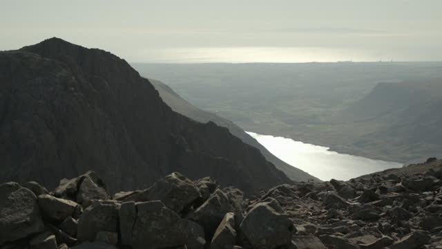 views of scafell pike - bare tree stock videos & royalty-free footage