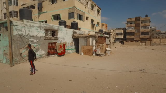 views of the alshati camp in gaza - gaza strip stock videos & royalty-free footage