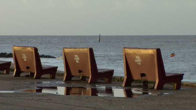 views of the coast in pomeroon-supenaam, guyana - guyana stock videos & royalty-free footage