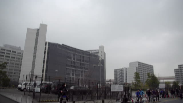 vidéos et rushes de views of the detention centre in tokyo where carlos ghosn was held on charges of financial misconduct - ghosn