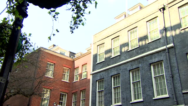 views of the flat in 11 downing street where boris johnson will self-isolate after being diagnosed with coronavirus - positive emotion stock videos & royalty-free footage