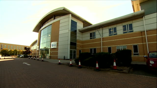 Views of the FlyBMI offices at East Midlands Airport
