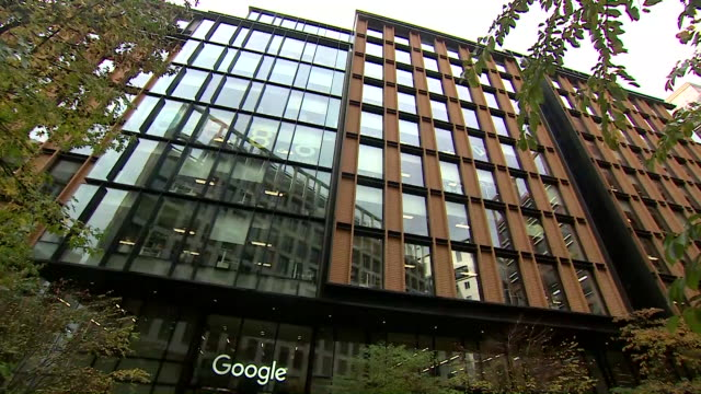 views of the google headquarters in london - google stock videos & royalty-free footage