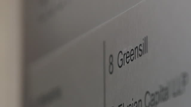 """views of the greensill capital offices - """"bbc news"""" stock videos & royalty-free footage"""