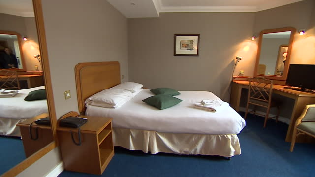 Views of the hotel room used by Khalid Masood the evening before he commited the Westminster terror attack