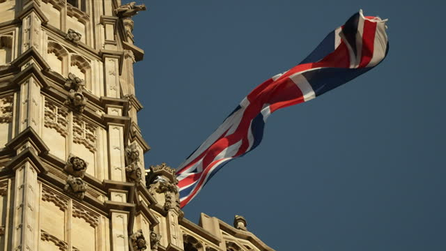 views of the houses of parliament - clock tower stock videos & royalty-free footage