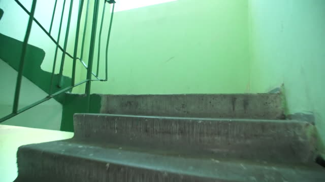 Views of the Kiev apartment where Ukrainian journalist Arkady Babchenko was 'assassinated' only for it to be revealed later that his death was faked