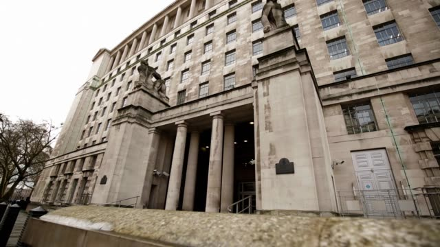 views of the ministry of defence main building - department of defense stock videos and b-roll footage