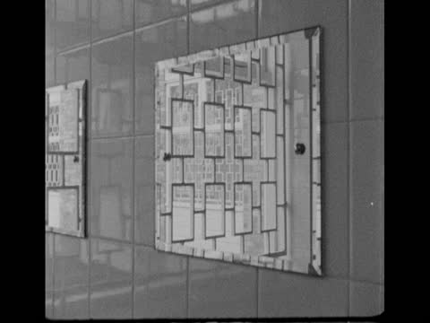 views of the newly-opened eastwood park detention centre, built by prisoners; 1968 - building entrance stock videos & royalty-free footage
