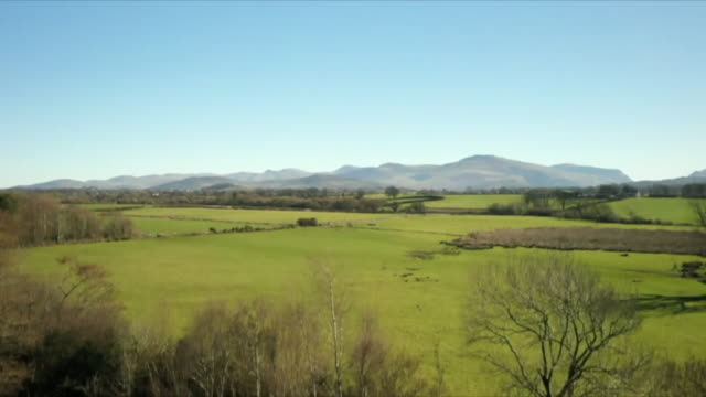 views of the north wales countryside - sky only stock videos & royalty-free footage