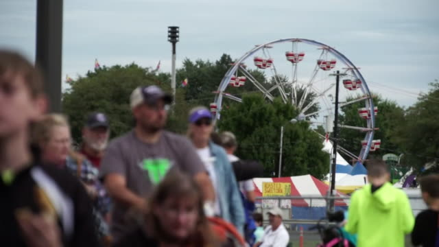 views of the pennsylvania state fair - fairground stall stock videos & royalty-free footage