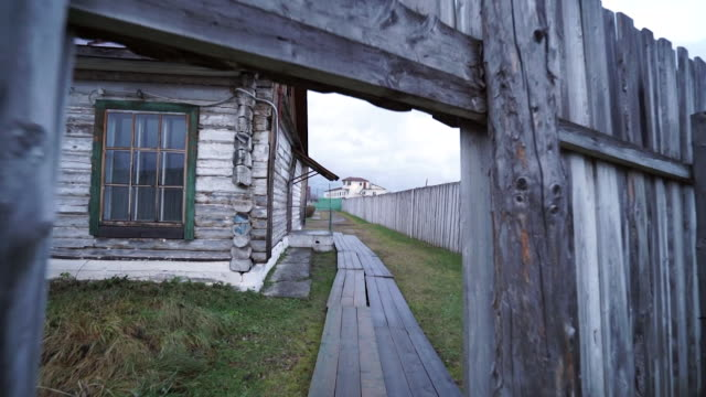 views of the perm36 soviet forced labour camp - prison camp stock videos & royalty-free footage