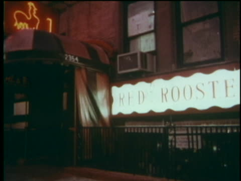 views of the red rooster club at w 138th st and adam clayton powell jr blvd - adam clayton powell jr stock videos & royalty-free footage
